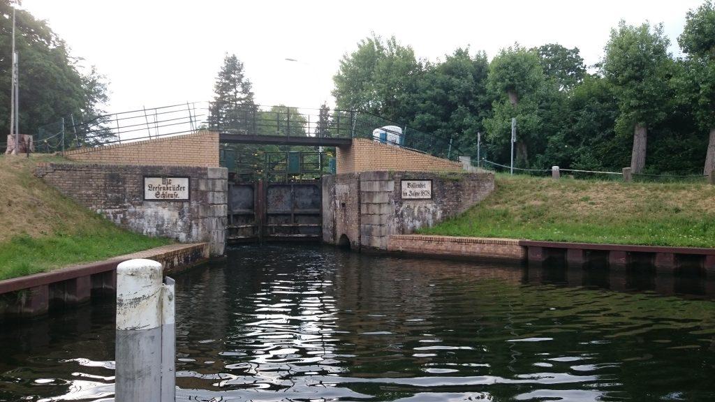 Finowkanal - Alte Leesenbrücker Schleuse