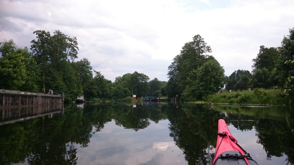 Finowkanal - Ruhlsdorfer Schleuse