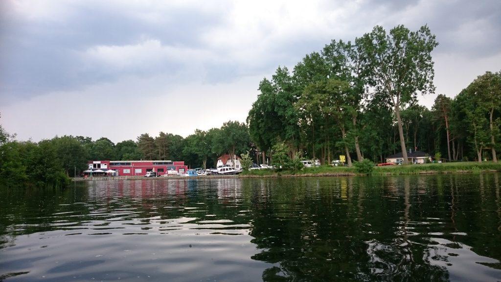 Oder-Havel-Kanal - Marina Marienwerder