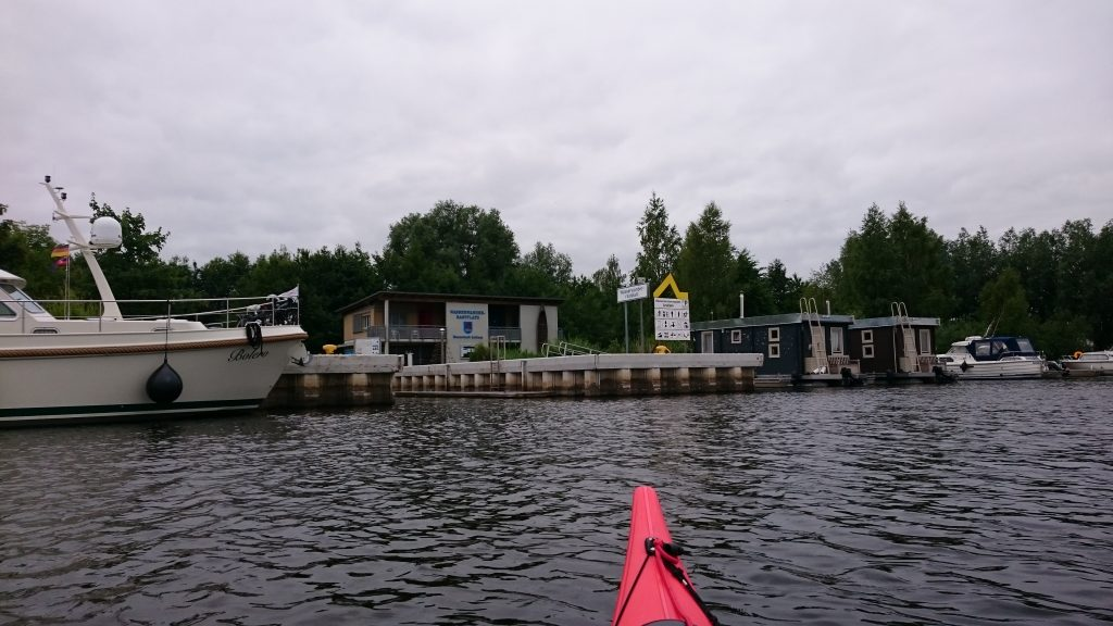 Peene - Wasserwander-Rastplatz Anklam