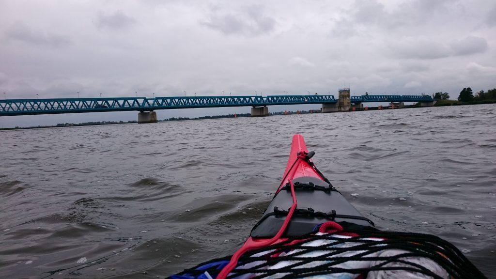 Peenestrom - Brücke bei Zecherin