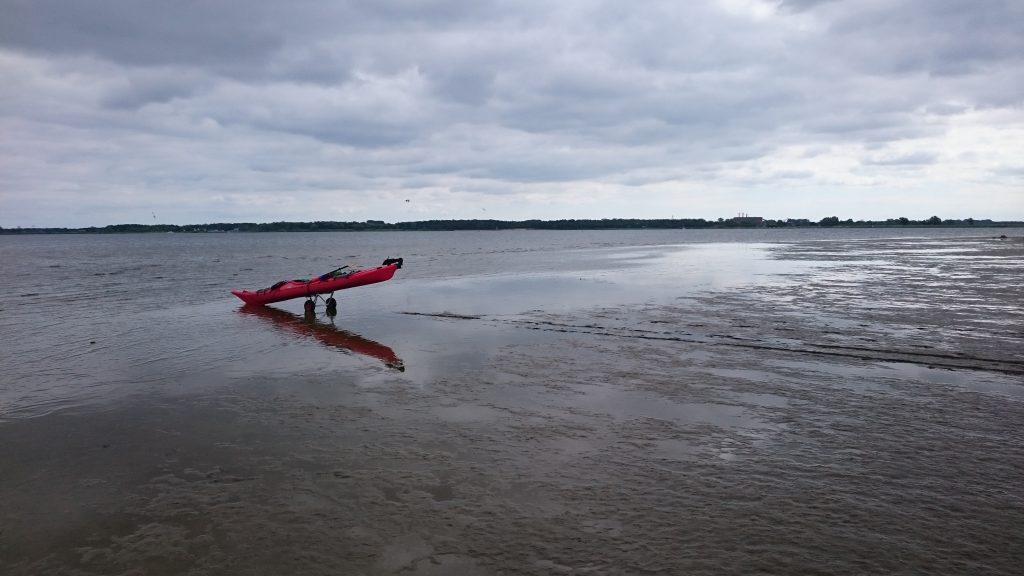 Peenestrom - Strand bei Freest