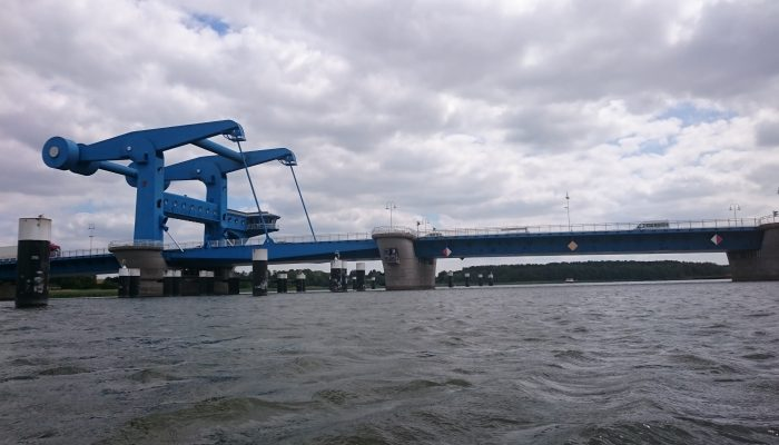 Hebebrücke bei Wolgast