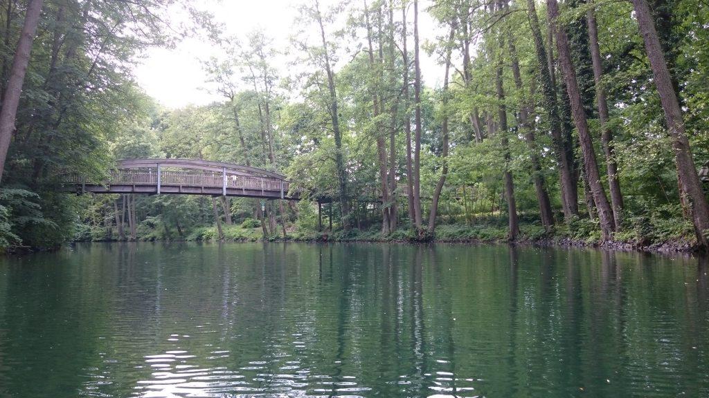 Werbellinkanal - Brücke beim Askanierturm