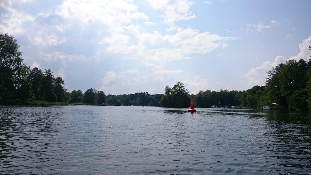 Werbellinkanal - Einfahrt Rosenbecker See