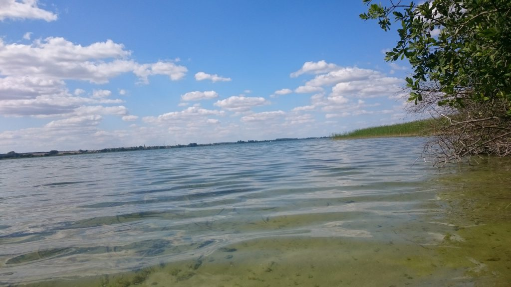 Lagunenfeeling am Unteruckersee