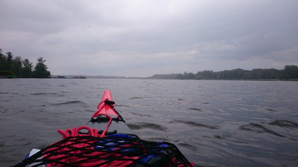 Regenfront am Krimnicksee