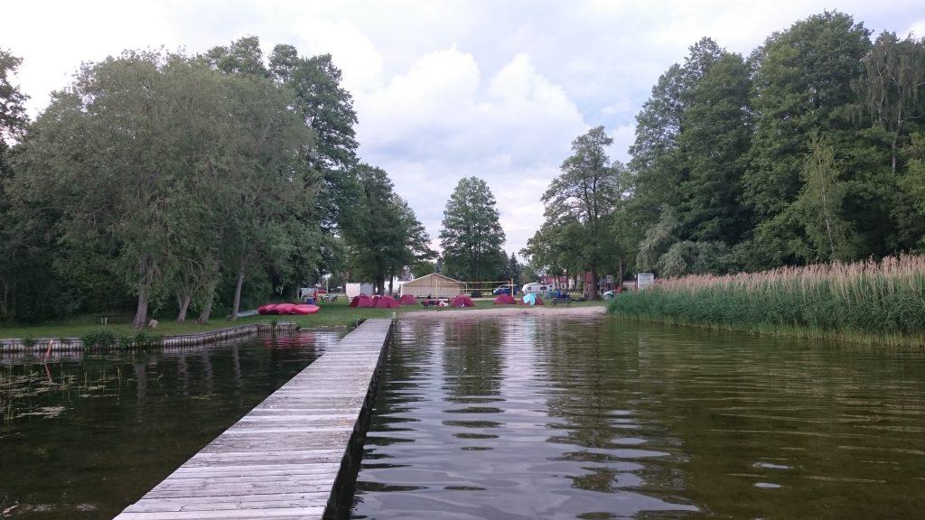 Wasserwander-Rastplatz Wolziger See