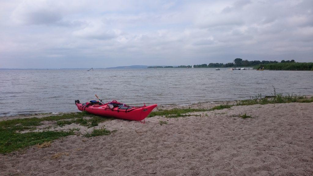 Kummerower See - Strand Verchin